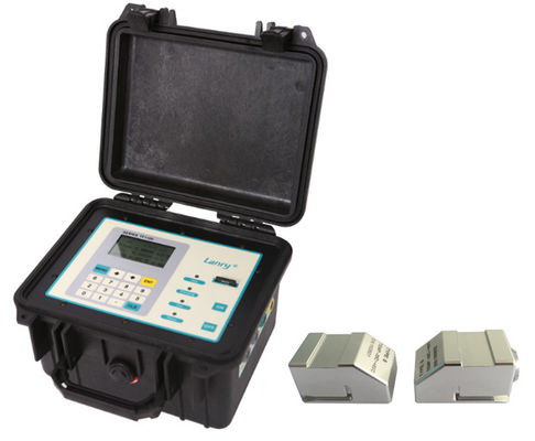 Battery Power Portable Ultrasonic Flow Meter with Data Logger