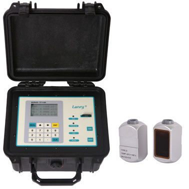China Portable Ultrasonic Pure water Flow Meter TF1100-EP with data storage function factory