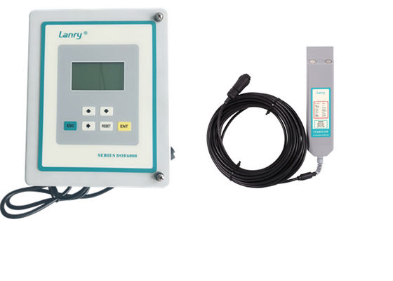High Accuracy Area Velocity Flow Meter , Variable Area Flow Meter Wall Installation