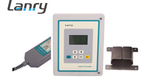 Wall Mounted Area Velocity Flow Meter DOF6000-W Low Power Consumption