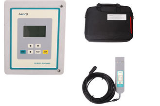 IP68 Area Velocity Flow Meter High Precision 16GB Data Logger With GPRS Output