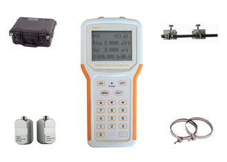 China Rechargeable Ultrasonic Liquid Flow Meter Handheld Type Non Invasive Transducer factory