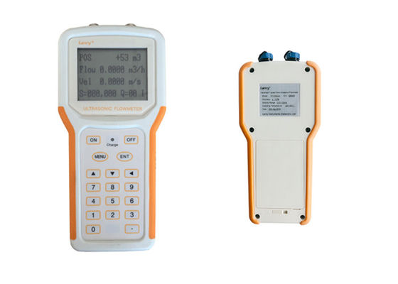 China Good Stability Ultrasonic Handheld Flow Meter IP65 For Mobile Measurement factory