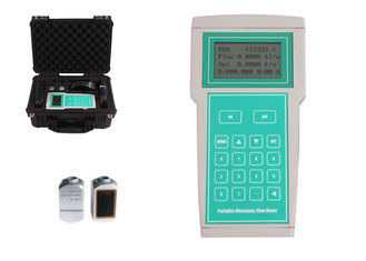 China TF1100-EH Handheld Ultrasonic Flow Meter , Digital Ultrasonic Flow Meter factory