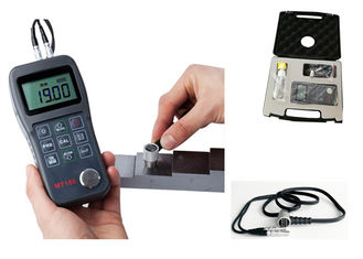 China Light Weight Ultrasonic Thickness Gauge , Ultrasonic Thickness Checker factory