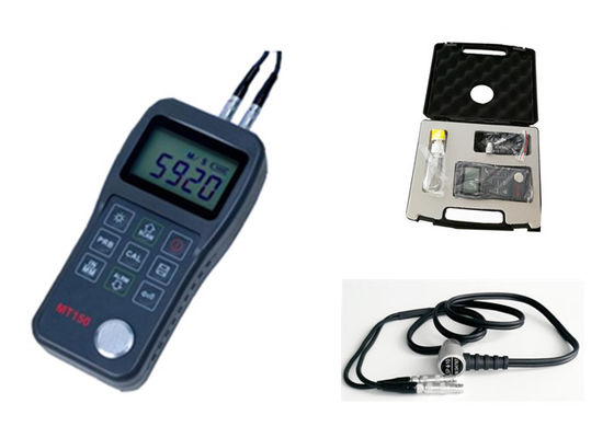 China Portable Ultrasonic Thickness Gauge , Ultrasonic Thickness Testing Equipment factory