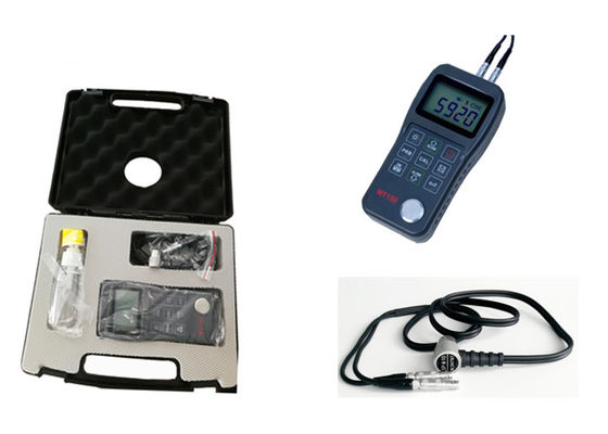 China Handheld Digital Ultrasonic Thickness Gauge , Ultrasonic Metal Thickness Meter factory