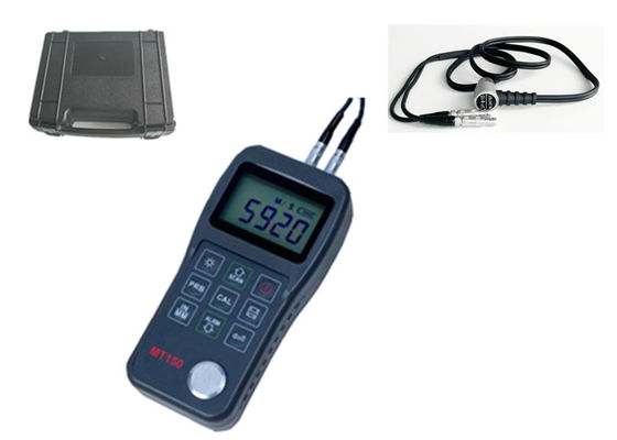 China Handheld Digital Portable Metal Sheet Ultrasonic Thickness Gauge Meter MT150/160 factory