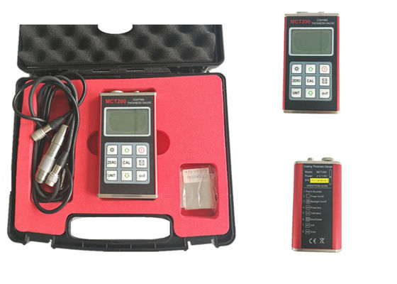 Stable Ultrasonic Thickness Gauge , Digital Ultrasonic Thickness Meter