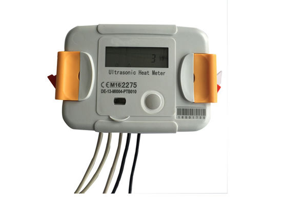Residential District Ultrasonic Heat Meter Accurate Support Optical Interface