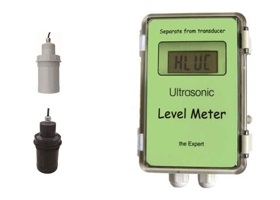 China Reliable Ultrasonic Type Level Transmitter , Ultrasonic / Fuel Tank Level Gauge factory