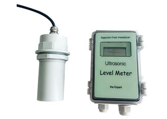 China Oil / Water Tank Ultrasonic Level Meter , Ultrasonic Water Level Meter factory