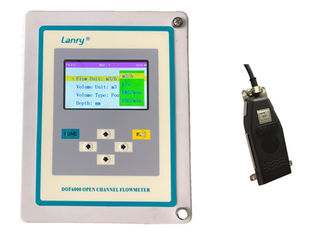 Liquid Ultrasonic Open Channel Flow Meter With Pressure Compesation