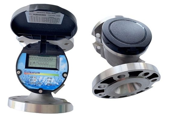Double Channels Ultrasonic Water Meter IP68 High Accuracy Reliable Operation