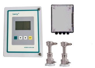 China Insertion Doppler Ultrasonic Flow Meter Relay And OCT Output DF6100-EI factory