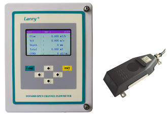 China Doppler Doppler Ultrasonic Open Channel Flow Meter With bi-directional factory