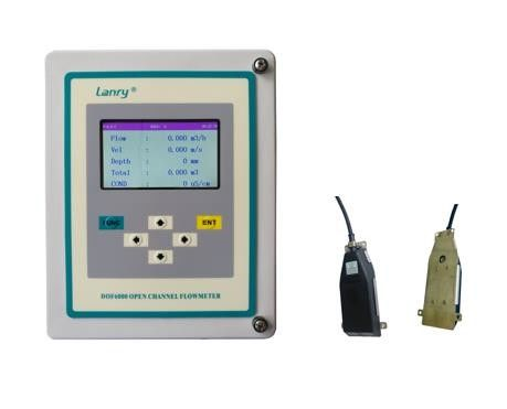 Wall Mounted Irrigation IP66 Ultrasonic Open Channel Flow Meter