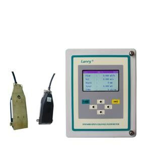 China Wall Mounted IP68 Conductivity Doppler Flow Meter factory