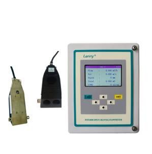 China Open Channel Doppler Flow Meter With Pressure Compensated factory