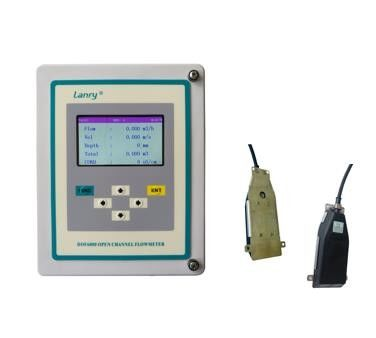 China RS485 Output Ultrasonic Open Channel Flow Meter factory