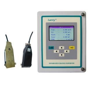 China Wall Mounted IP68 Open Channel Flow Meter factory