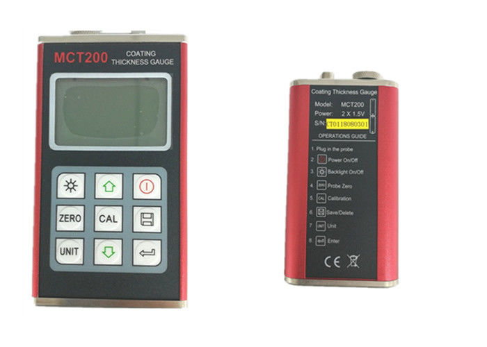 High Performance Ultrasonic Thickness Gauge Meter Low Battery Information supplier