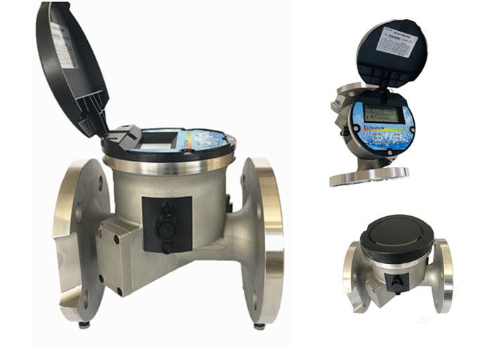 Household Irrigation Water Flow Meter / Battery Power Ultrasonic Water Flow Meter supplier