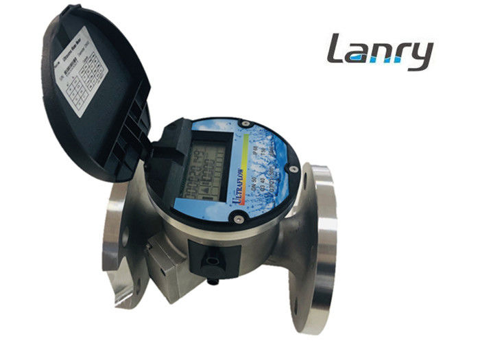 High Accuracy Irrigation Ultrasonic Water Meter Ultrawater DN50-300mm Pipe Range supplier