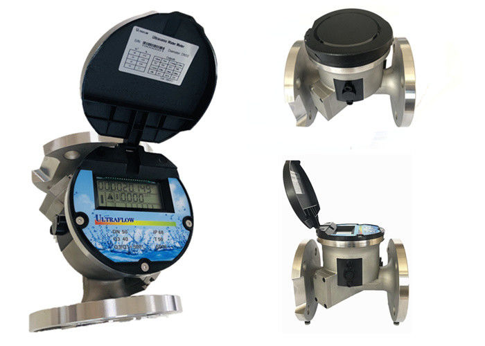 Flange Type Smart Ultrasonic Water Meter For Drinking Water High Accuracy supplier