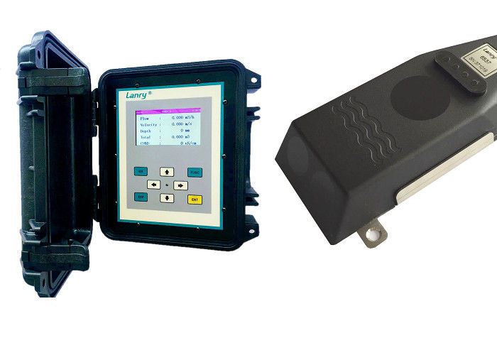 1% Accuracy Portable Ultrasonic Open Channel Flow Meter IP68 Protection supplier