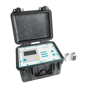 Portable Doppler Ultrasonic Flowmeter Liquid Measure