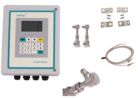 China Low cost insertion type Transit-time Ultrasonic Flow meter 4~20mA Modbus RS485 distributor