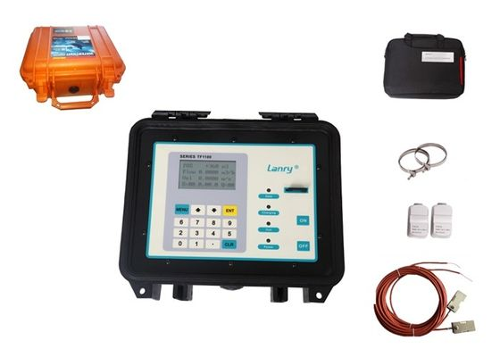 Lightweight Portable Ultrasonic Flow Meter