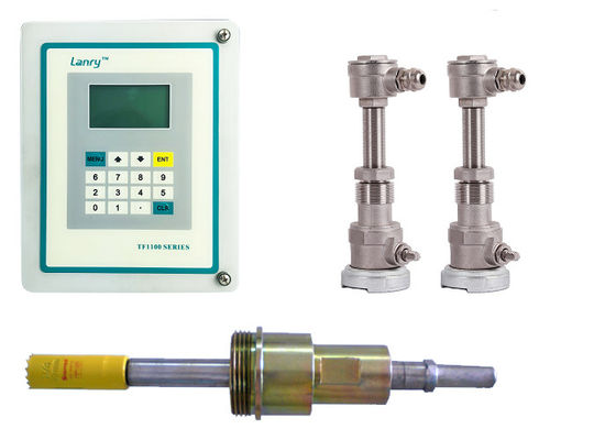 China DN20 - DN6000 Pipe Insertion Type Flow Meter Ultrasonic Liquid Flow Meter distributor