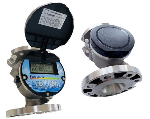 China 3.6V Lithium Power Supply Ultrasonic Water Meter With 1% High Accuracy CE Certification distributor